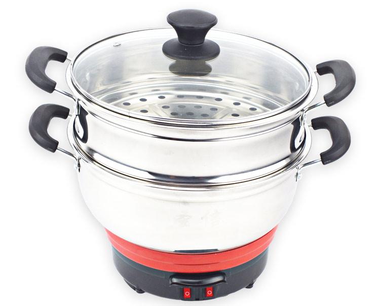 小电锅大用处,炒、涮、蒸、煮全能王