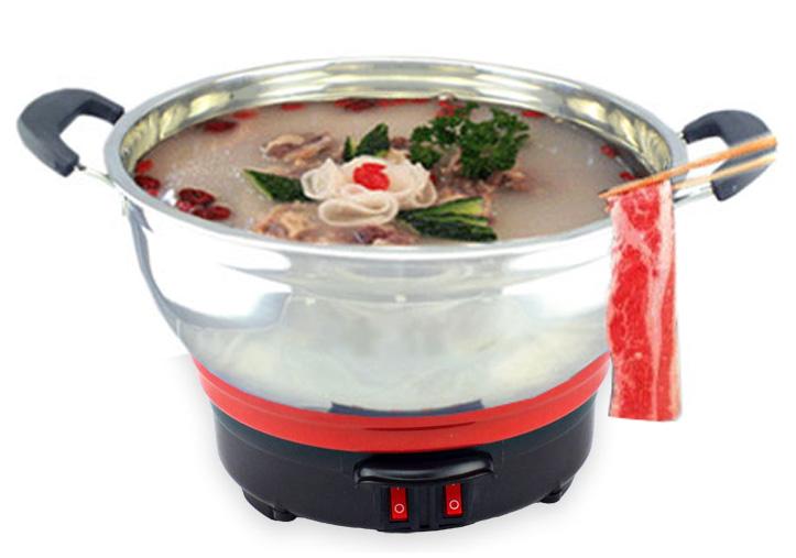 小电热锅刷羊肉