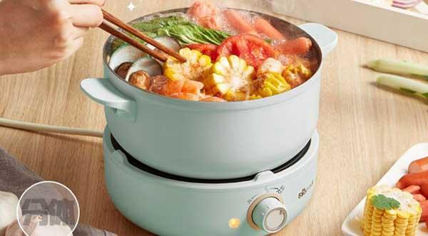 分体式电热锅