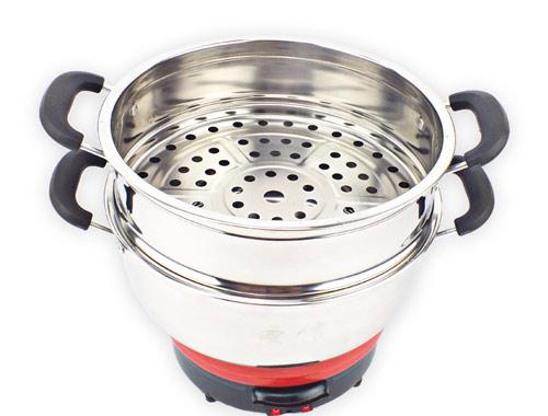 小电热锅细节