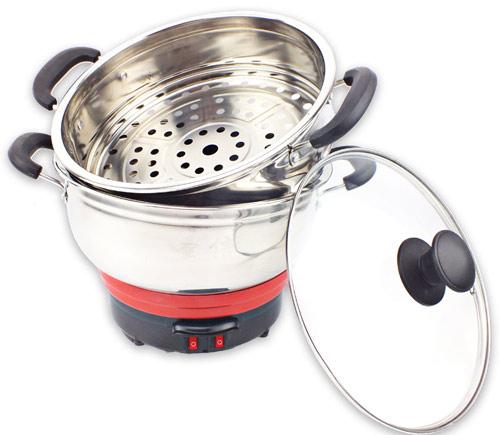 小电热锅全家福
