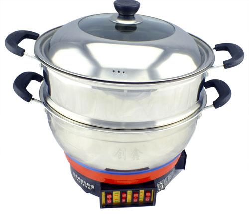 大锅头电热锅
