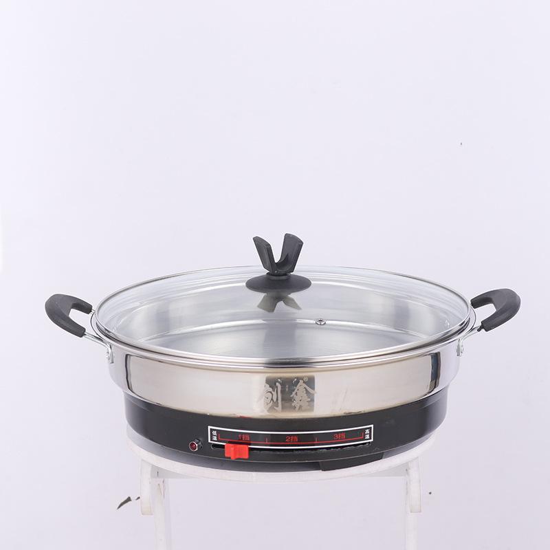 电煎锅A款_调温式不锈钢电煎锅