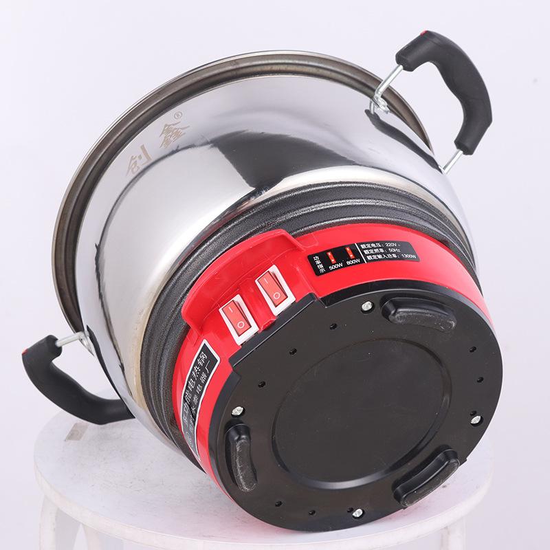 中国红电热锅