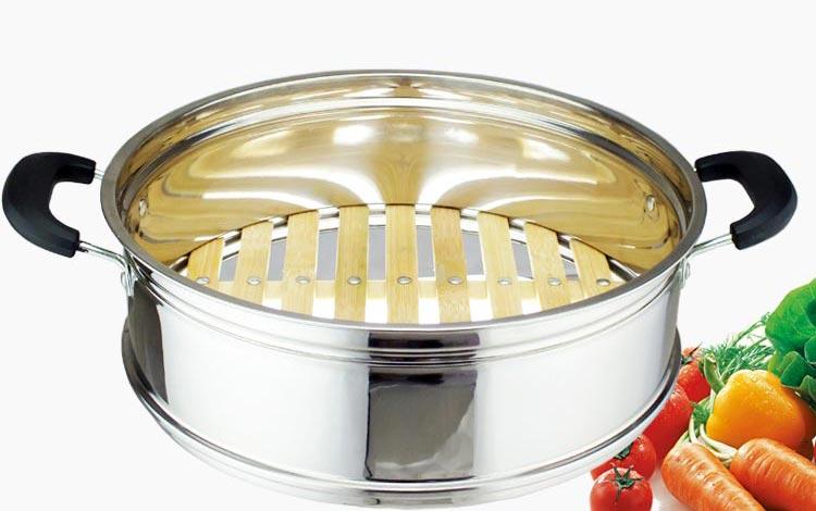 宽竹笼,高档电热锅蒸笼