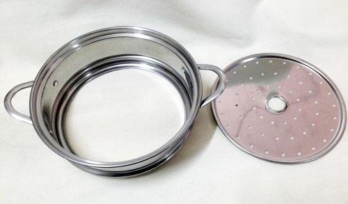电热锅不锈钢蒸笼