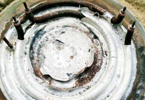 电热锅发热盘