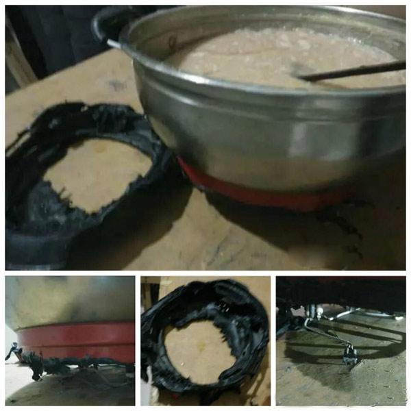 劣质电热锅底座的危害