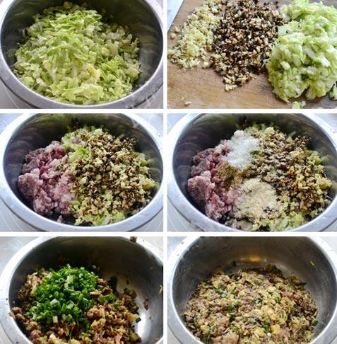 电热锅蒸包-豆渣蒸包