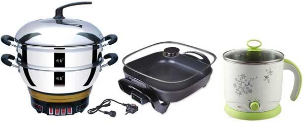电热锅的结构决定了电热锅的质量